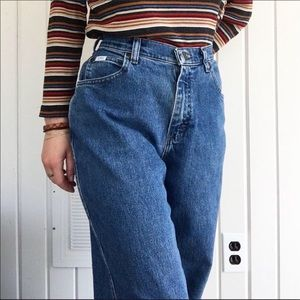 Lee vintage tapered leg mom jeans